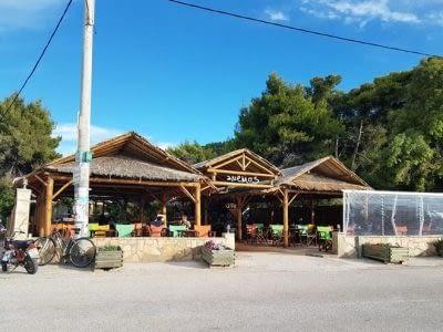 Beach Bar Cafe Snacks   Lefkada Agios Ioannis Ionian Islands   Anemos