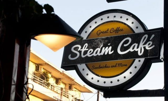 ΚΑΦΕΤΕΡΙΑ ΜΠΑΡ ΣΝΑΚ | ΡΟΔΟΣ ΔΩΔΕΚΑΝΗΣΑ | STEAM CAFE