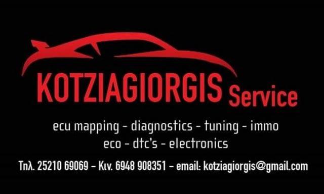 Car Service | Doxato Drama | Kotziagiorgis Service RemapTronic Ecu